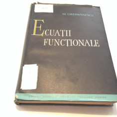 ECUATII FUNCTIONALE M GHERMANESCU-RF14/3