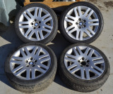 Jante BMW 18 inch cu anvelope Dunlop 225-45zr18 - set 4 buc , din dezmembrari