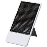 Suport telefon de birou pliabil, Everestus, STT089, plastic, negru, laveta inclusa