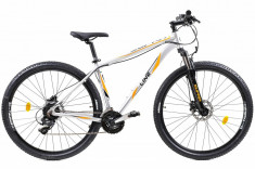 Bicicleta Mtb Afisport 2921 Supra Gri L 29 inch foto