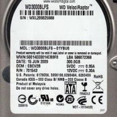 Hard Disk Server SATA, Western Digital VelociRaptor WD3000BLFS 300GB, 2.5""