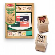 Set de stampile Pui de animale domestice, Melissa and Doug foto