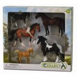 Set 5 figurine viata cailor Collecta, plastic dur cauciucat