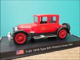 Macheta pompieri Cadillac E57 Victoria Coupé (1918) 1:43 Del Prado