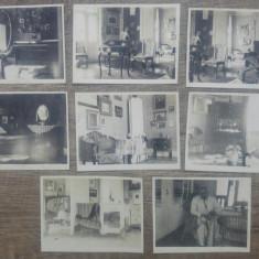 Interior de casa, perioada interbelica, Romania// lot 8 fotografii