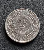 Antilele Olandeze 25 cent centi 1994, America Centrala si de Sud