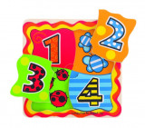 Primul meu puzzle - numere, Bigjigs
