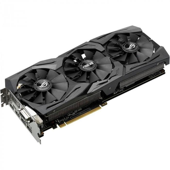 Placa video ASUS GeForce® GTX 1060 STRIX, 6GB GDDR5, 192-biti