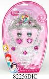 Set diademă şi bijuterii (4 piese) - Disney Princess