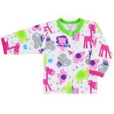 Bluza cu maneca lunga pentru fete Koala Zoo 3165RZ1-62-cm, Multicolor, Milusie