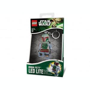 Breloc cu lanterna LEGO Boba Fett (LGL-KE19)