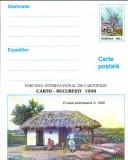 CPI B14251 CARTE POSTALA - CARTO BUCURESTI 1998. O CASA TARANEASCA IN 1906, Necirculata, Fotografie