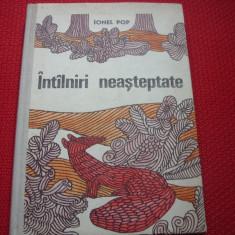 IONEL  POP  -  INTALNIRI  NEASTEPTATE  ( 1970, rara, ilustrata, cartonata ) *