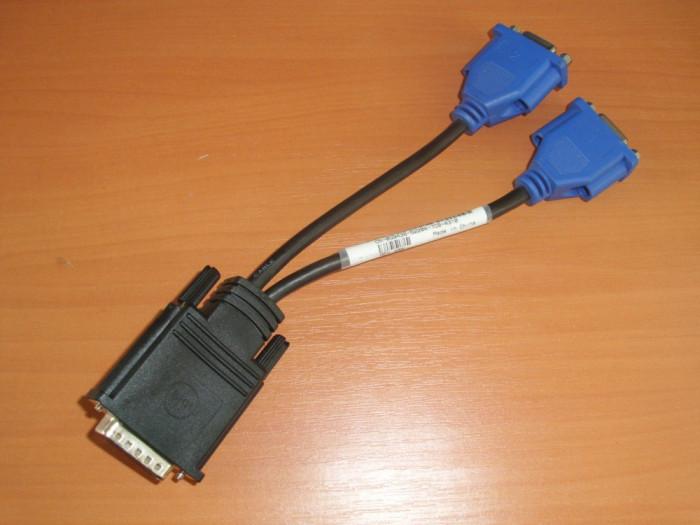 Cablu Dell DMS-59 pin Dual VGA Y-Splitter