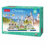 Cumpara ieftin Puzzle 3D - Bavaria, 178 piese, CubicFun