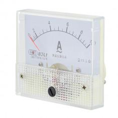 Ampermetru analogic de panou, 10A, AC, fara sunt - 111477