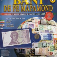 Set reviste BANI DE PE MAPAMOND, 20 bucati, numerele 21-40, unele au monede