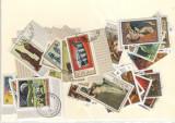 Burundi.Lot 40 buc. timbre stampilate serii si deparaiate DL.12, Africa