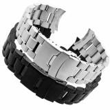 Bratara Ceas Otel Inoxidabil Argintie de calitate 20mm pentru Seiko Orient Casio