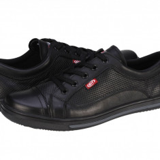 Pantofi casual piele barbati Bit Bontimes Eternity II negru B7016PVNEGRU, 40, 41, 43