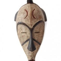 Impresionanta masca tribala Fang