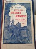 N. IORGA - ISTORIA BISERICII ROMANESTI, VOL. II, 1909