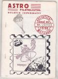 bnk fil Astrofila Botosani - buletin informativ nr 2/1990