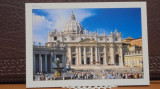 ITALIA - ROMA - PIATA SAN PIETRO ASALTATA DE TURISTI - NECIRCULATA ., Fotografie