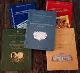 TOATE 5 volume - Emisiunile de bancnote ale Romaniei BNR - probe, schite etc