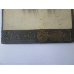 Fotografie pe carton 108 x 68 mm studio foto Chișinău/Basarabia cca.1900