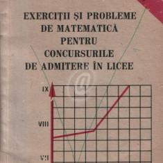 Exercitii si probleme de matematica pentru concursurile