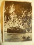 Ilustrata - Vaporas in Delta Dunarii circ. 1955 Galati