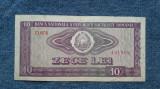 10 Lei 1966 bancnota Romania (2)