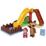 Set Constructie Big Masha And The Bear Pool Fun 29 Piese