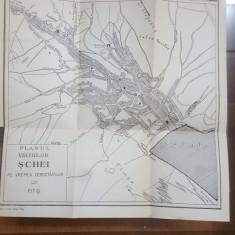 Planul vechilor Șchei, Pe vremea cercetărilor lui Pitiș