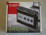 Walkman ION Audio TAPE EXPRESS Cassette Player, Digital Converter Mp3 - ca NOU