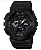 Ceas Sport Dama Casio G-SHOCK BABY-G All Black NEGRU (Copil) CALITATE PESTE PRET, Plastic, Cauciuc