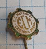 Insigna Brazilia - club fotbal E.C. Metropol, Criciuma