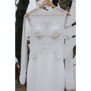 Rochie de mireasa sirena, marime 36