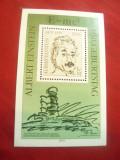 Bloc DDR 1979- Personalitati - 100 Ani Albert Einstein, Nestampilat