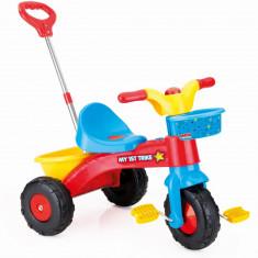 Prima mea tricicleta cu maner - Rapida PlayLearn Toys, DOLU
