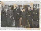 D1184 Ofiteri romani decorati insigna Cercetasii Romaniei Hemeius Bacau 1939