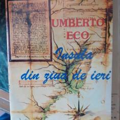 Insula din ziua de ieri – Umberto Eco