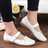 Pantofi Albano albi casual -rl