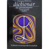 Carte Florenta Sadeanu - Dictionar De Pronuntare Nume Proprii Straine