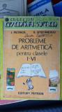 PROBLEME DE ARITMETICA PENTRU CLASELE I-IV PETRICA STEFANESCU - PETRION