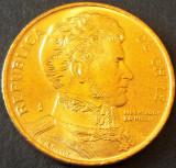 Moneda EXOTICA 1 PESO - CHILE, anul 1990 *cod 787 - UNC din FASIC, America Centrala si de Sud