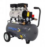 Cumpara ieftin Compresor fara ulei Stager HM0.75JW 24, 24 L, 8 bar, 165 l min, 1 CP, monofazat