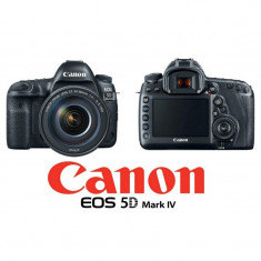 Camera foto canon eos-5d iv + obiectiv 24-105mm 1:4l is ii usm dslr 30mpx sensor