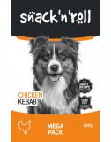 SNACK & ROLL - Kebab de pui pentru câini - 200 g
